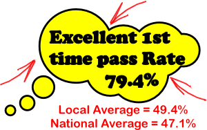 excellent pass rates