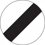 National speed limit sign - Flexdrive